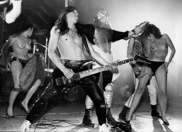 Шоу секс рок группы